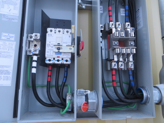 E&I Work for RSV Electrical Buildings